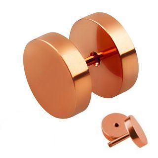 Fake Plugs Rosegold