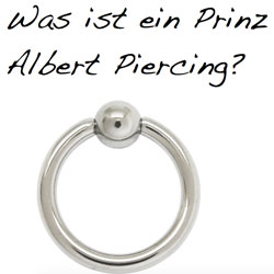 Prinz albert piercing stechen video