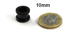 10mm tunnel plugs in 10mm hier kaufen. Black Bedroom Furniture Sets. Home Design Ideas