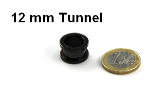 12 mm tunnel