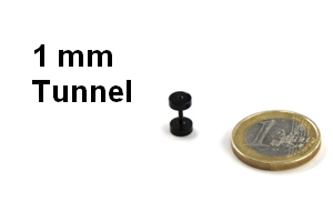 1 mm tunnel