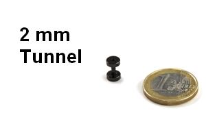 2mm tunnel plugs in 2mm hier g nstig kaufen. Black Bedroom Furniture Sets. Home Design Ideas