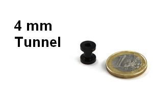 4mm tunnel plugs in 4mm hier g nstig kaufen. Black Bedroom Furniture Sets. Home Design Ideas