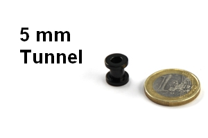 5mm tunnel