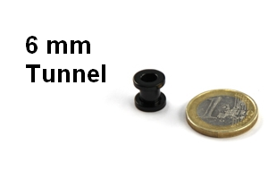 6mm Tunnel