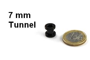 flesh tunnel 7mm