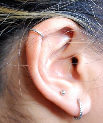ring ohr piercing