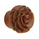 Form Plug - Holz - Rose - Braun 14 mm