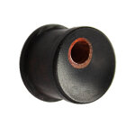 Holz Ohr Plug - Areng Holz - Tunnel Loch 5 mm