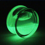 Glow in the dark - Fluid Plug 10 mm