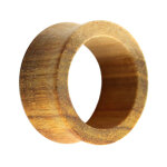 Holz Flesh Tunnel - Braun - Canary Wood 8 mm