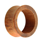 Holz Flesh Tunnel - Braun - Granadillo 8 mm