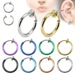 Fake Piercing - Ring - Bunt [04.] - gold