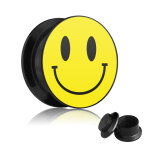 Motiv Plug - Gewinde - Smiley 12 mm