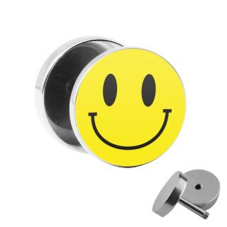 Motiv Fake Plug - Smiley