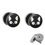 Motiv Fake Plug Set - Comic Katze