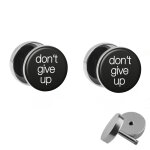 Motiv Fake Plug Set - dont give up