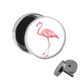 Motiv Fake Plug - Flamingo