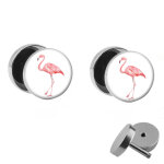 Motiv Fake Plug Set - Flamingo