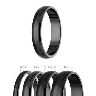 ring 925 silber gl nzend 4 breiten schwarz. Black Bedroom Furniture Sets. Home Design Ideas