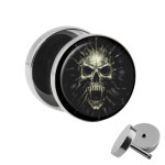 Motiv Fake Plug - Screaming Skull
