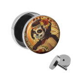 Motiv Fake Plug - La Catrina - Orange