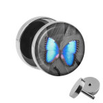 Motiv Fake Plug - Schmetterling