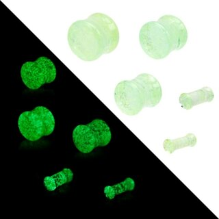 Glow in the dark - Plug - Glas