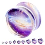 Silhouette Plug - Galaxy 12 mm