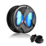 Picture Plug - Gewinde - Schmetterling 6 mm