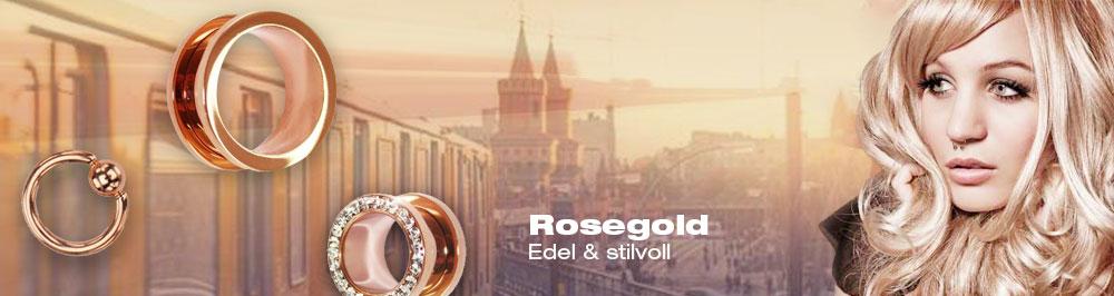 Rosegold Piercings